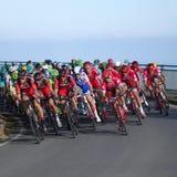 """Cykla loppet Milan†""""San Remo royaltyfri foto"""