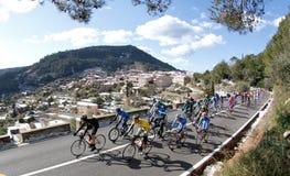 Cykla nära valldemossa Royaltyfria Bilder