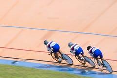 cykla racen Arkivbild