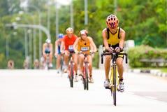 cykla racen Royaltyfria Foton