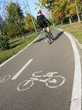 cykla vägen Royaltyfri Bild