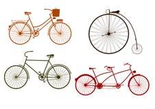 Cyklar stock illustrationer