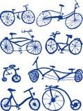 cyklar vektor illustrationer