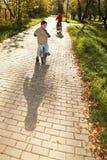 cyklar att rida för pojkar Arkivfoton