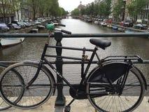 Cyklar av Amsterdam Fotografering för Bildbyråer