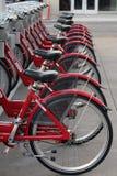cyklar hyra royaltyfri fotografi