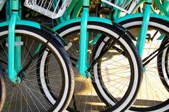 cyklar hyra Royaltyfria Bilder