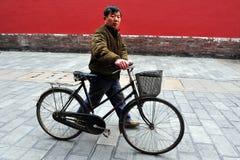 Cyklar i Kina Royaltyfria Foton