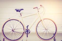 cyklar retro bakgrund Arkivfoto