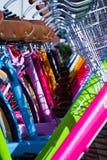 cyklar shoppar Royaltyfria Bilder