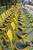 Cyklarna Royaltyfri Foto