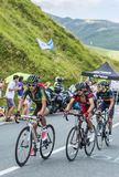 cykliści trzy Obraz Stock
