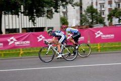 cykliści Zdjęcia Royalty Free