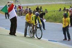 cykliści Zdjęcie Stock