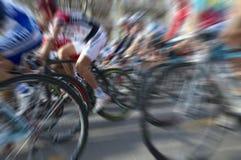 cykliści Zdjęcie Royalty Free