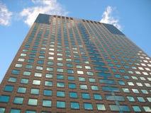 cykliny niebo wysoki budynek Zdjęcia Royalty Free