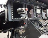 Cyklisk pinne av en helikopter Fotografering för Bildbyråer