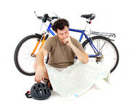 cyklist Arkivbild