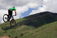 cyklist Royaltyfria Foton
