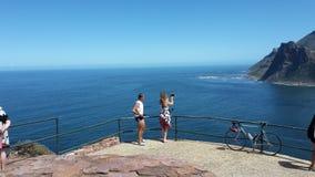 Cyklist på det Chapmans maximumet Fotografering för Bildbyråer
