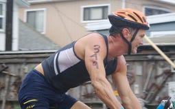 cyklista Obrazy Royalty Free