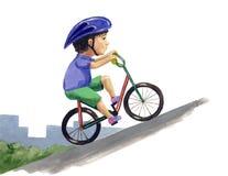 cyklista Royalty Ilustracja