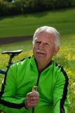 cyklista Obraz Stock