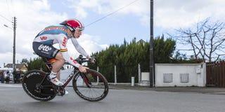 Cyklista Andre Greipel - ładny 2016 Zdjęcia Stock