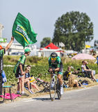Cyklista Cyril Gautier Zdjęcia Stock