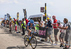 Cyklista Daniel Martin Obrazy Royalty Free