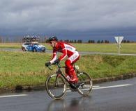 Cyklista Dimitri Claeys - ładny 2017 obrazy stock
