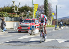 Cyklista Jelle Vanendert - ładny 2016 Fotografia Royalty Free