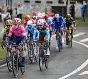 Cyklista Lawson Craddock - ładny 2019 zdjęcia stock