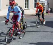 Cyklista Marco Haller - ładny 2019 fotografia stock