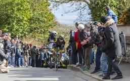 Cyklista Sylvain Chavanel - ładny 2016 Obraz Stock