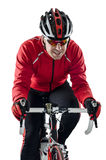 Cyklista target351_1_ rower Fotografia Stock
