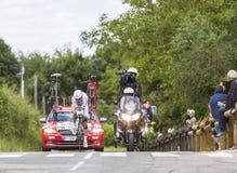 Cyklista Tony Martin, Criterium Du Dauphine 2017 - Fotografia Royalty Free