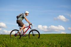 cyklistberg arkivbilder