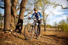 cyklistberg Arkivfoto