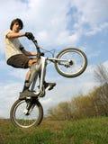 cyklistberg arkivfoton