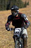 cyklistblack royaltyfria bilder