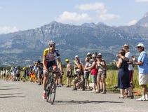 Cyklisten Bart De Clercq Royaltyfri Foto