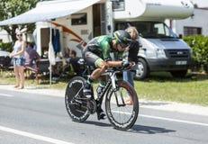Cyklisten Bryan Coquard Arkivfoto
