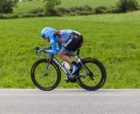 Cyklisten Daniel Martin Arkivfoto