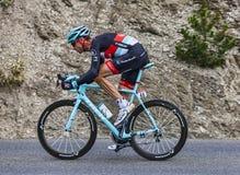 Cyklisten Jens Voigt Arkivfoton