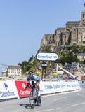 Cyklisten Jerome Pineau Royaltyfria Foton