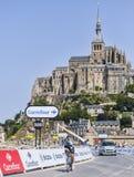 Cyklisten Jerome Pineau Royaltyfria Bilder
