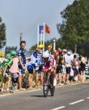 Cyklisten Joaquim Rodriguez Oliver Arkivfoton