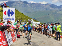 Cyklisten Lars Petter Nordhaug Royaltyfria Foton