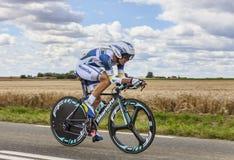 Cyklisten Marco Marcato Arkivfoto